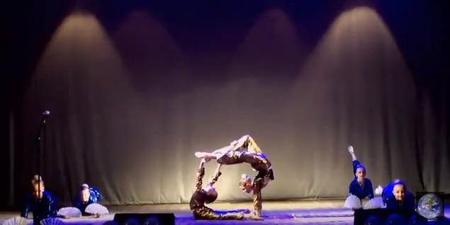 Цирковая студия Конфетти – Пластический этюд